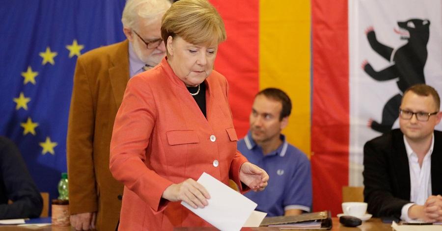 Exitpolls: Merkels CDU Blijft Grootste In Duitsland, AfD
