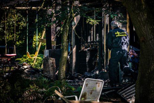 Kinderen omgekomen brand Strijbeek