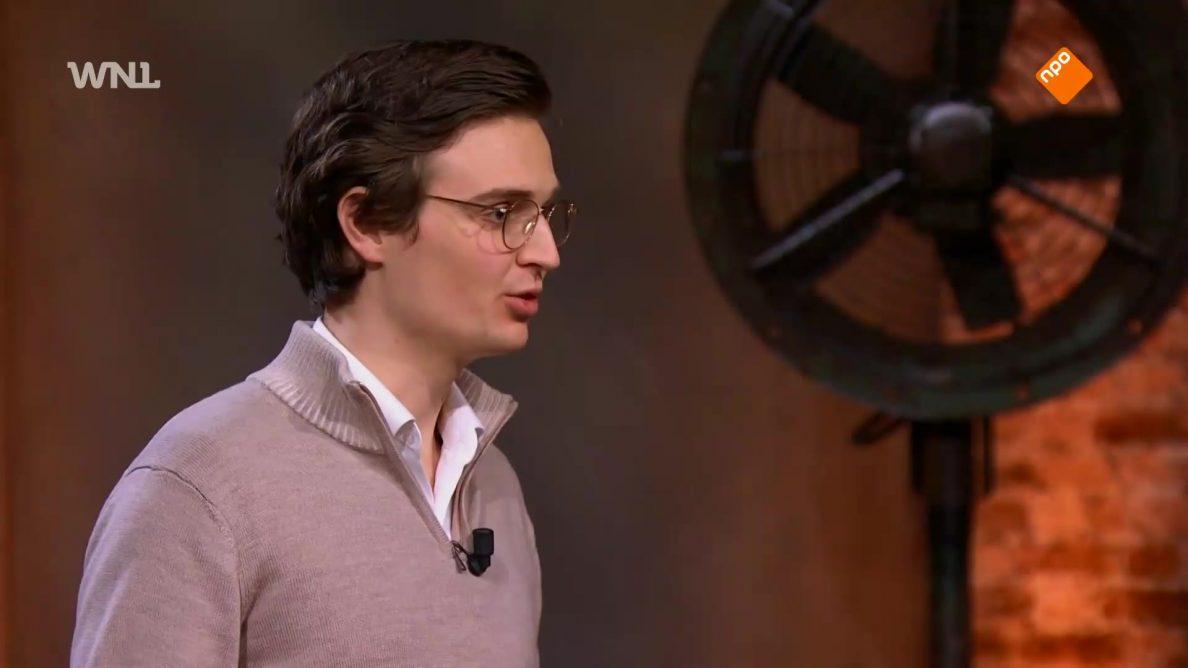Julian wil een miljoen om met zijn robot een slaaprevolutie te ontketenen