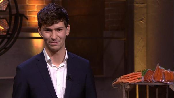 19-jarige Koen wil markt op met wortelworstjes